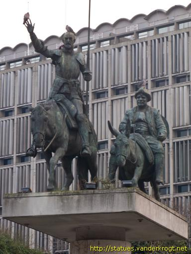 Brussel - Don Quixote & Sancho Panza