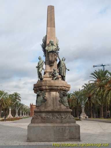 Barcelona /  Monument a Rius i Taulet