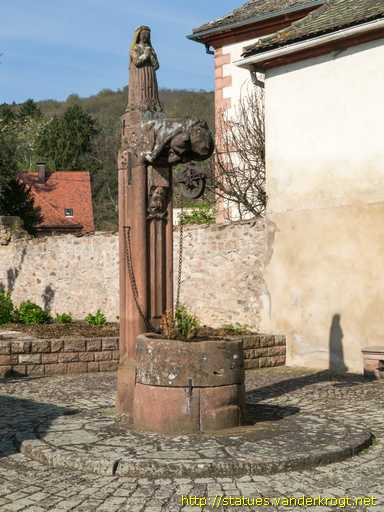 Andlau /  Puits Sainte-Richarde