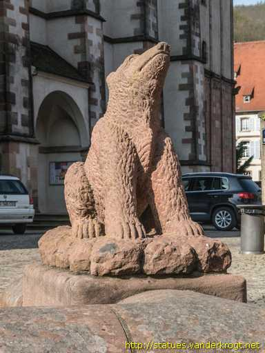 Andlau /  L'ours assis