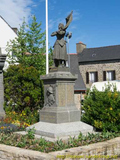 Lanvollon /  Monument aux Morts - Jeanne d'Arc