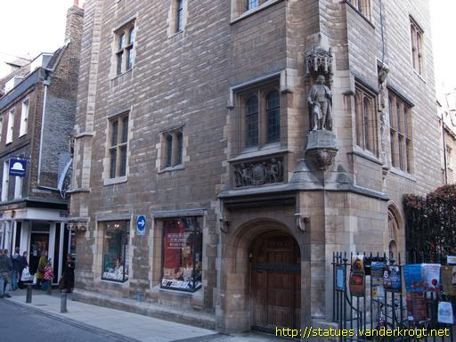 Cambridge façade statues of st michael s court