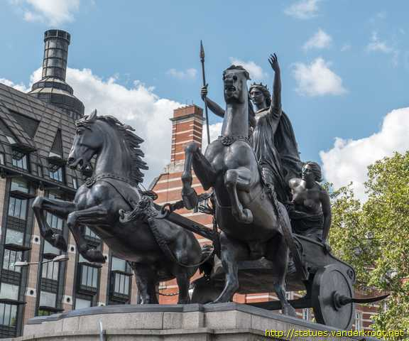 London /  Boadicea and her Daughters
