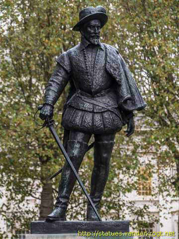 London /  Sir Walter Raleigh