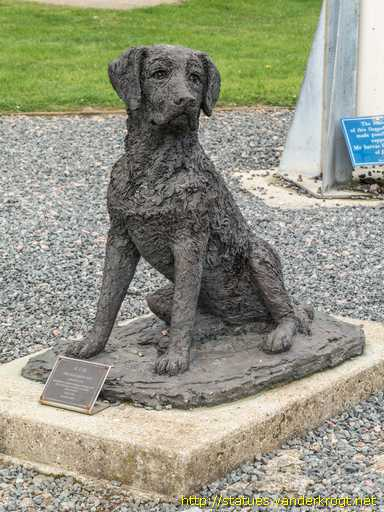 Capel-le-Ferne /  B.O.B. The Squadron Dog