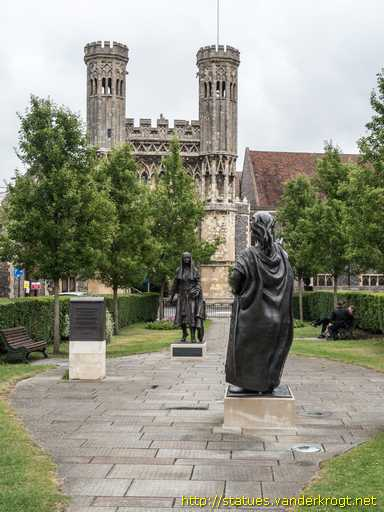 Canterbury /  King Ethelbert and Queen Bertha