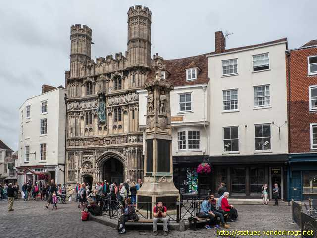 Canterbury /  War Memorial 1914-18