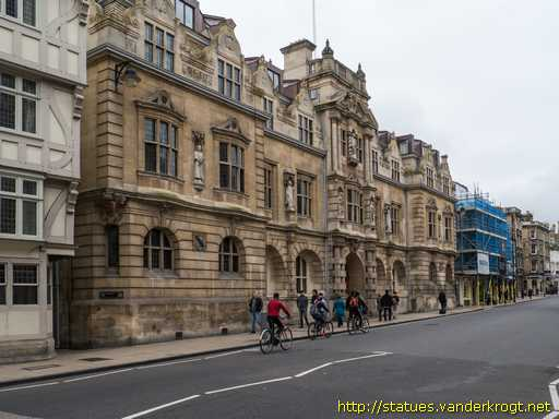 Oxford /  Cecil Rhodes, Two Kings and Four Oriel College Alumni