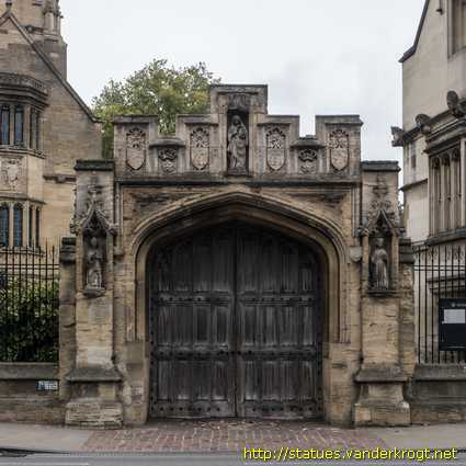 Oxford /  St. Mary Magdalen, William Waynflete and St. Swithun