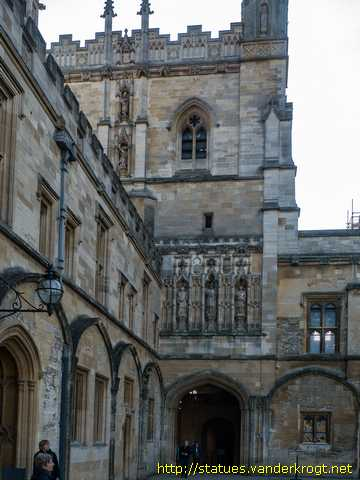 Oxford /  Cardinal Thomas Wolsey and others