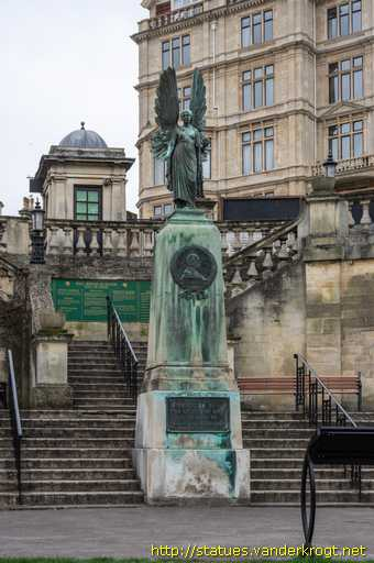 Bath /  The Angel of Peace - King Edward VII Memorial
