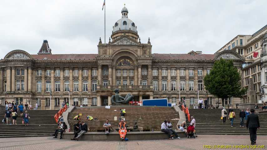 Birmingham /  Pediments and Mosaic at the Council House