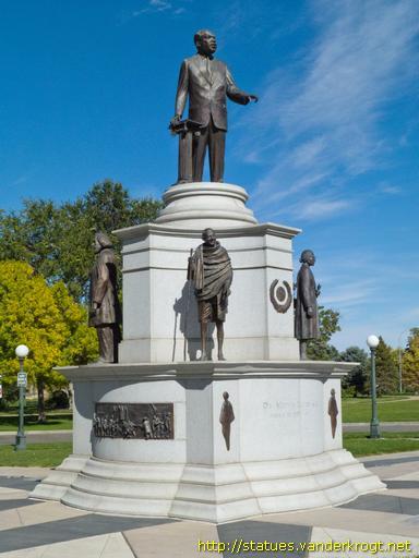 Denver Dr Martin Luther King Jr I Have A Dream Monument