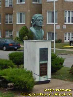 Dearborn /  Bust of Christopher Columbus
