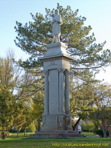 Pierre /  Civil War Monument