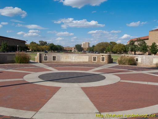Lubbock /  Pfluger Fountain