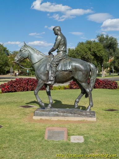 Lubbock /  Will Rogers - Riding into the Sunset