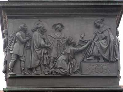 Maximilian I. Joseph (München) - giving of the consitution