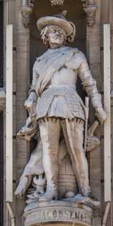 Dunkerque - Louis XIV et Grand hommes Dunkerquois