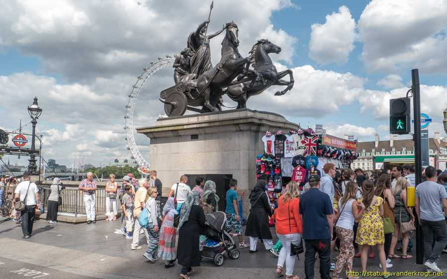 London - Boadicea and her Daughters