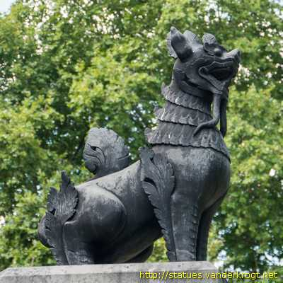 London - Chindit Memorial