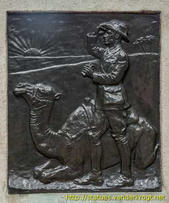 London - Imperial Camel Corps Memorial