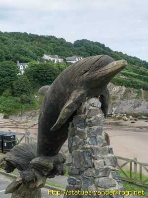 Aberporth / Leaping Dolphin