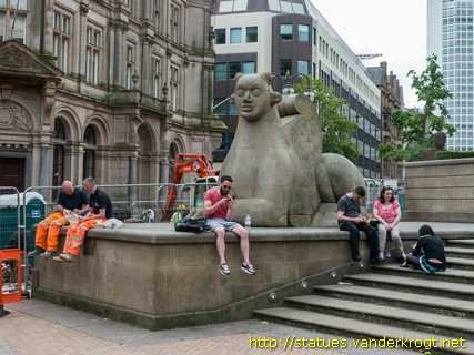 Birmingham - River, Youth, Guardians and Object (Variations)