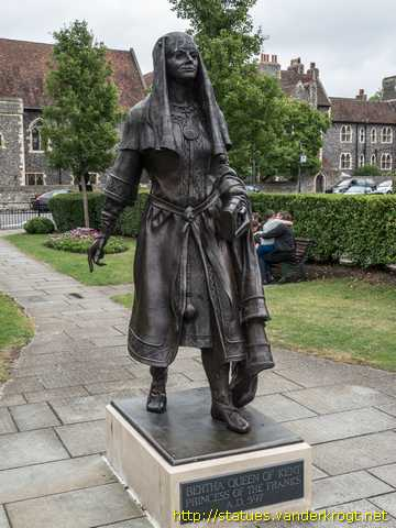 Canterbury - King Ethelbert and Queen Bertha