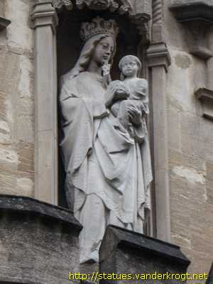 Oxford - Virgin Mary, William Smyth and Richard Sutton
