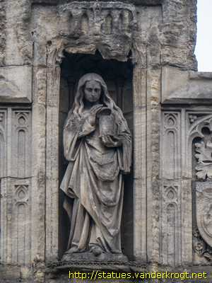 Oxford - St. Mary Magdalen, William Waynflete and St. Swithun