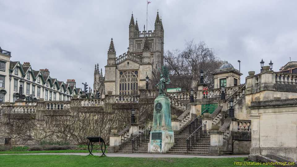 Bath - The Angel of Peace - King Edward VII Memorial