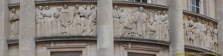 Bath - Guildhall Reliefs