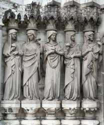 Cork - Corcaigh / Sculptures at St. Fin Barre's Cathedral