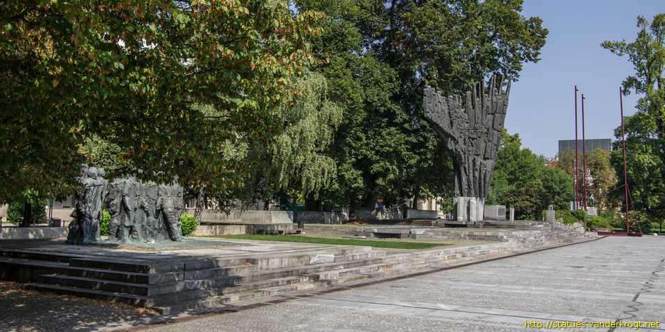 Ljubljana Spomenik Edvardu Kardelju