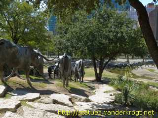 Dallas - Trail Drive: An American Monument to the West